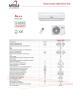 climatizzatore 9000 BTU MITSUI 2020
